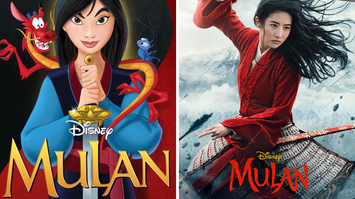 Mulan 2020 Vs Mulan 1998 The Differences Similarities Den Of Geek