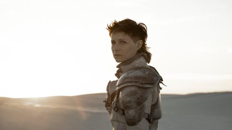 Niamh Algar as Sue in Raised by Wolves