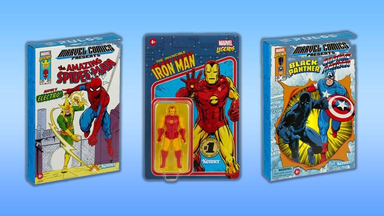 Marvel Legends Retro Action Figures