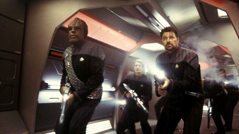Worf & Riker in Star Trek: Nemesis