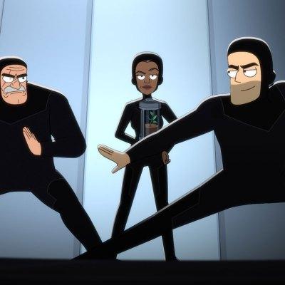 Star Trek: Lower Decks Episode 7 Bridge Crew