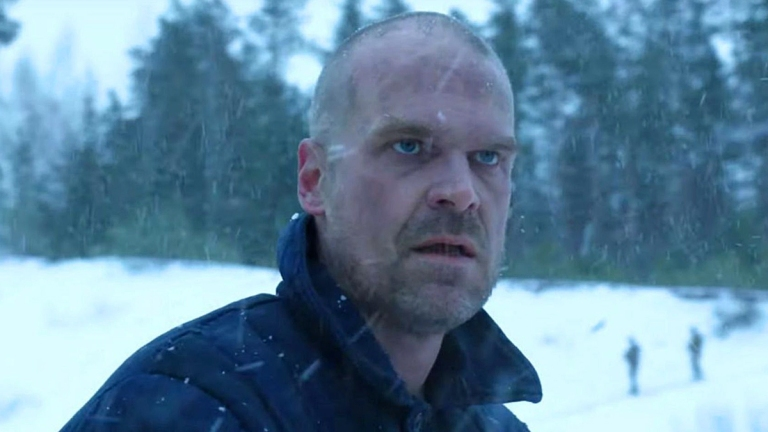 David Harbor as Jim Hopper in the Stranger Things Season 4 Teaser