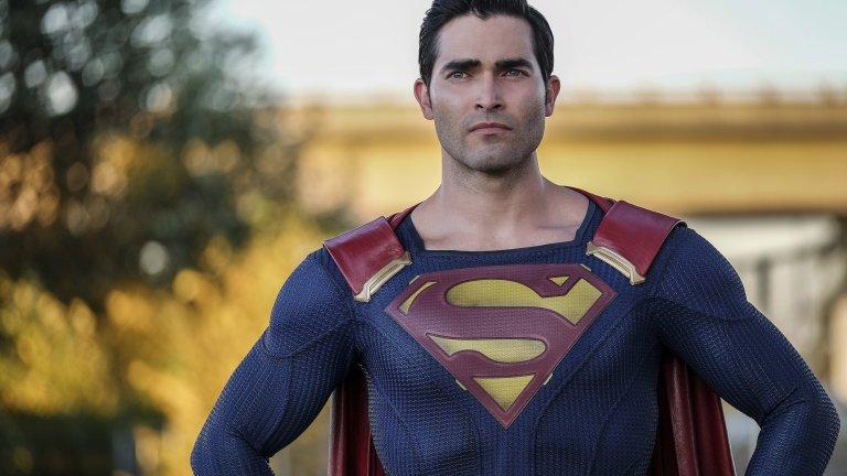 Tyler Hoechlin as Superman on The CW
