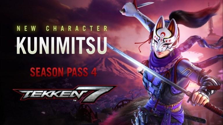 Kunimitsu in Tekken 7