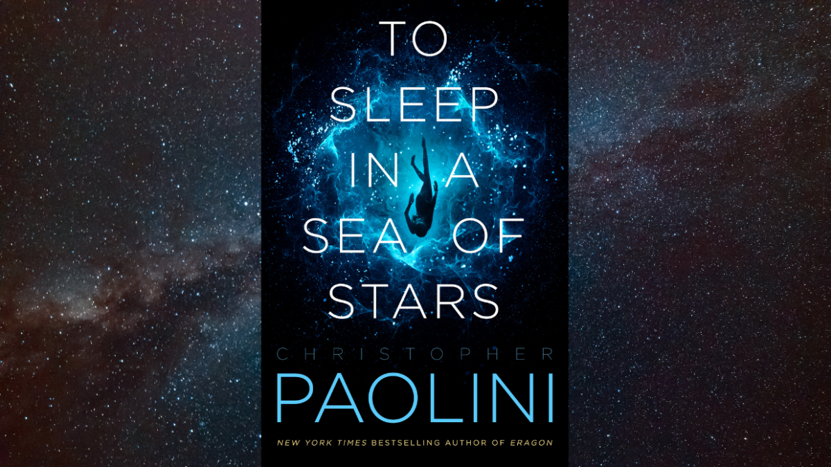 The Cover for Christopher Paolini's To Sleep in a Sea of Stars