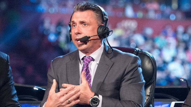 WWE Raw Announcer Michael Cole
