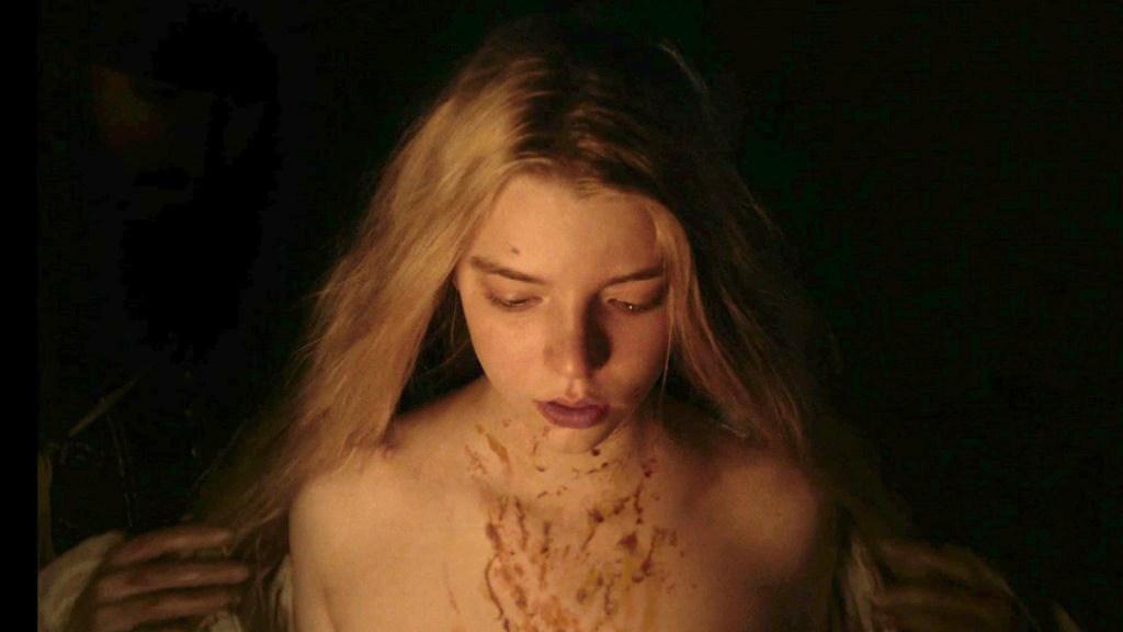 Anya Taylor-Joy en la película de brujas