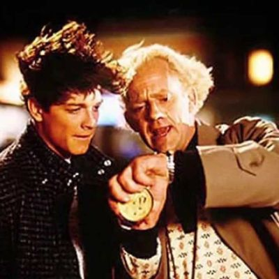 "Eric Stoltz as Marty McFly in ""Back to the Future"""