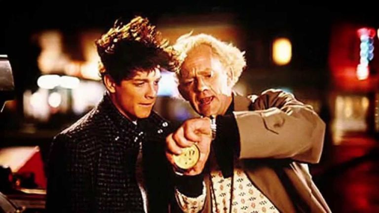 """Eric Stoltz as Marty McFly in """"Back to the Future"""""""