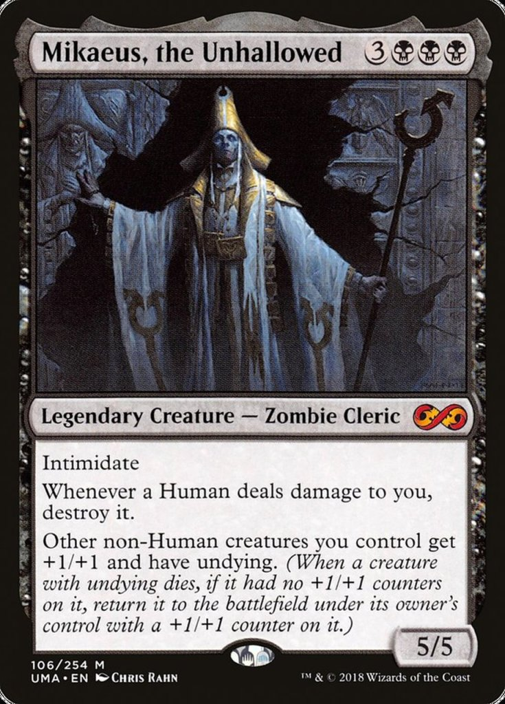 Magic: the Gathering Scariest Cards - Mikaeus, the Unhallowed