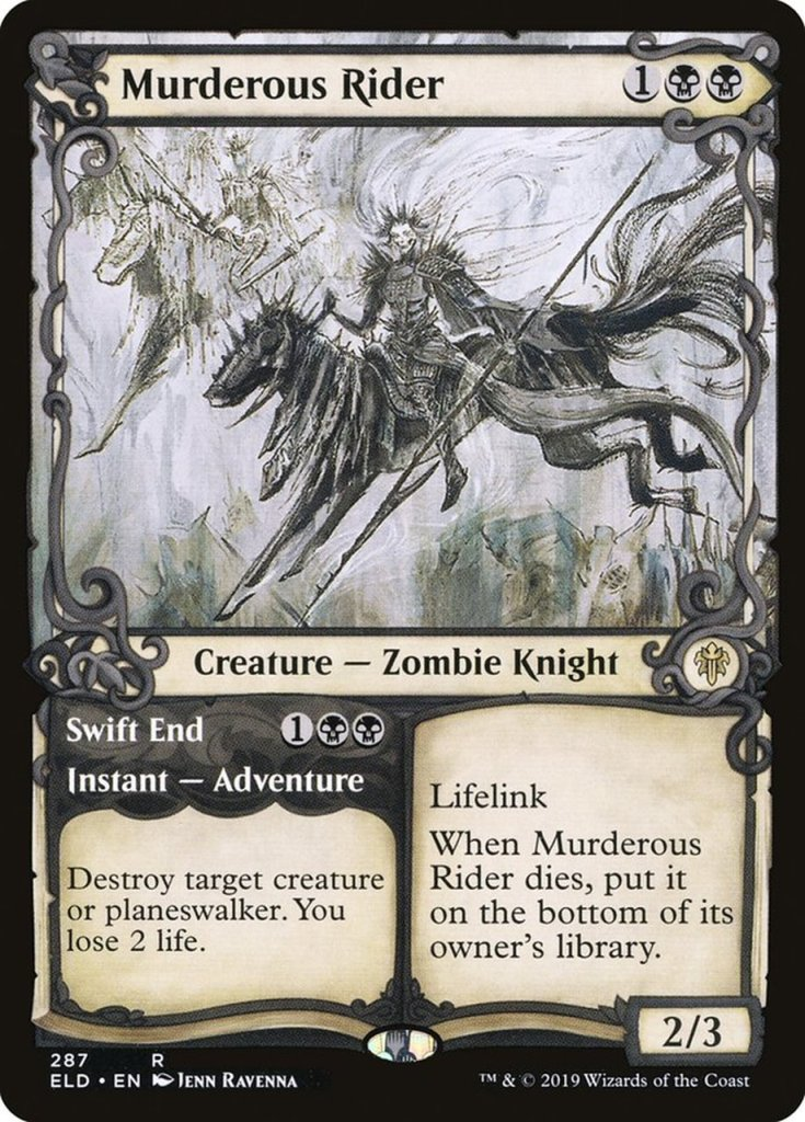 Magic: the Gathering Scariest Cards - Murderous Rider