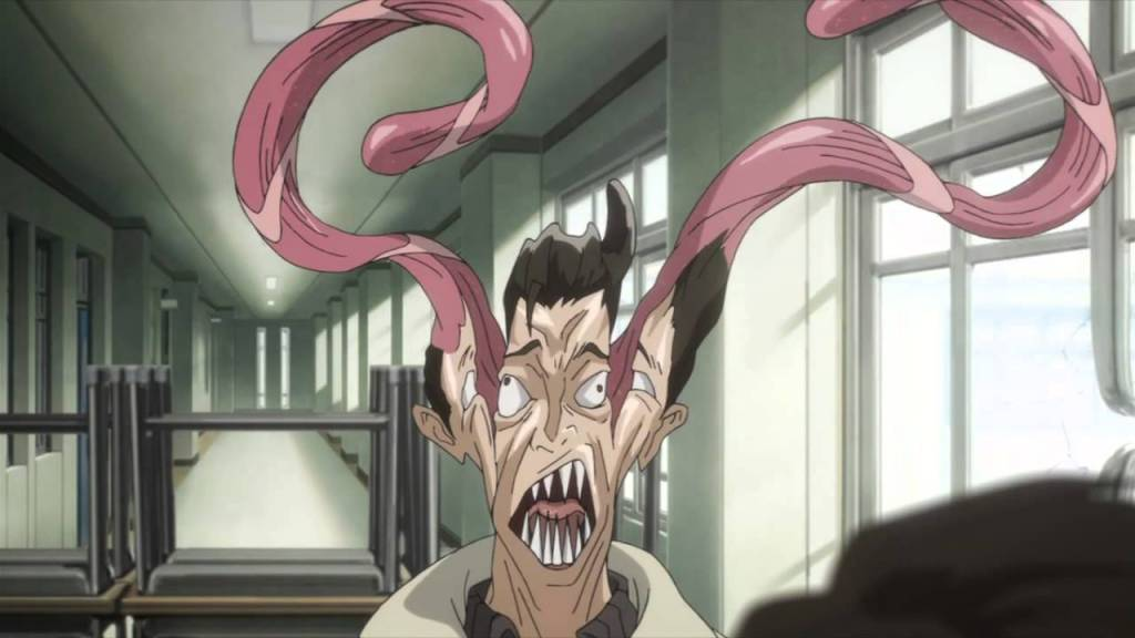 Best Horror Anime on Netflix - Parasyte-the maxim-