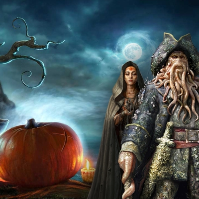 Pirates of the Caribbean: Tides of War Halloween