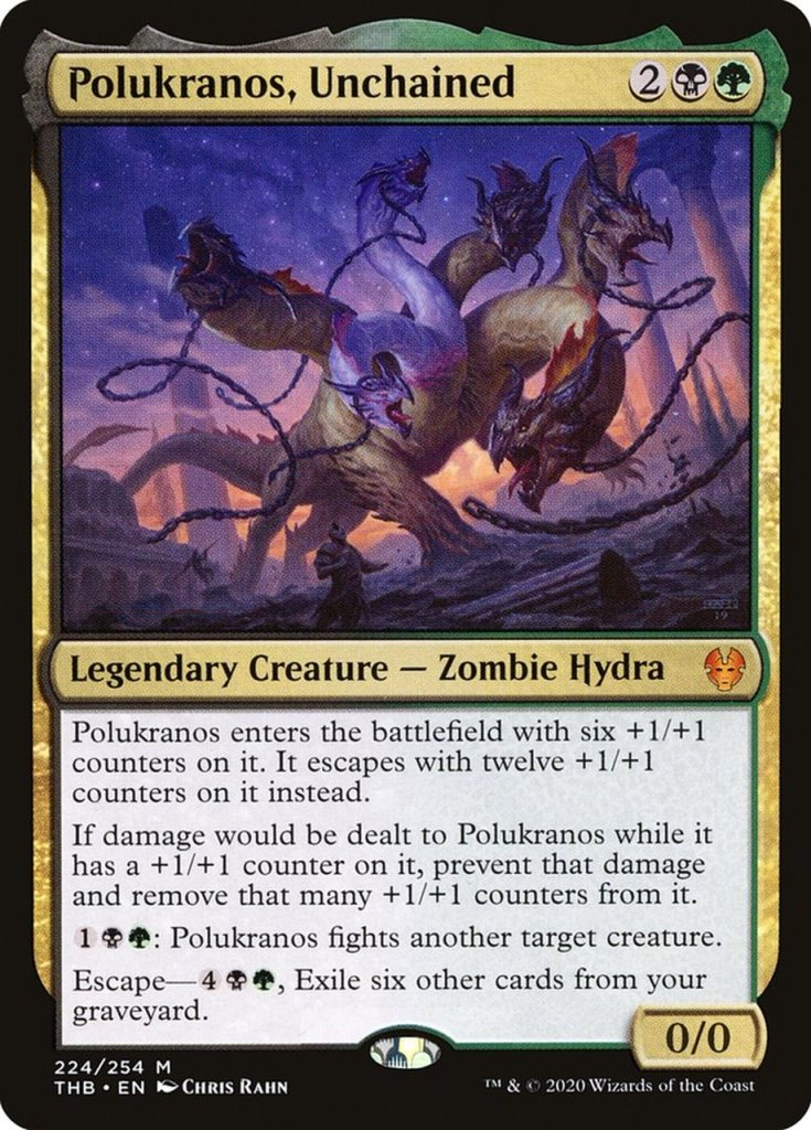 Magic: the Gathering Scariest Cards - Polukranos, Unchained