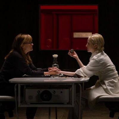 Jennifer Jason Leigh and Andrea Riseborough in Possessor