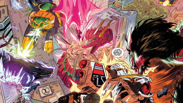 Power Rangers Issue 55 Preview