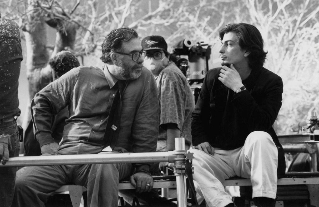 Roman Coppola and Francis Ford Coppola on Bram Stoker's Dracula Set