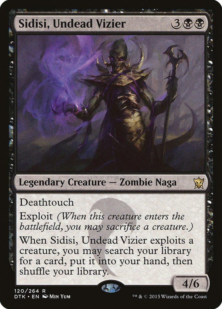 Magic: the Gathering Scariest Cards - Sidisi, Undead Vizier