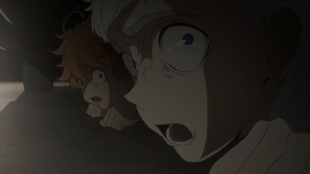 Best Horror Anime on Netflix - The Promised Neverland
