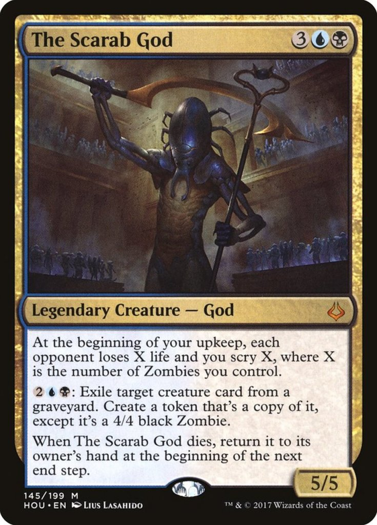 Magic: the Gathering Scariest Cards - The Scarab God