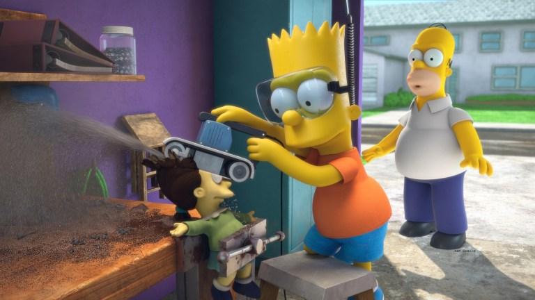 The Simpsons Season 32 Episode 4 Treehouse of Horror XXXI