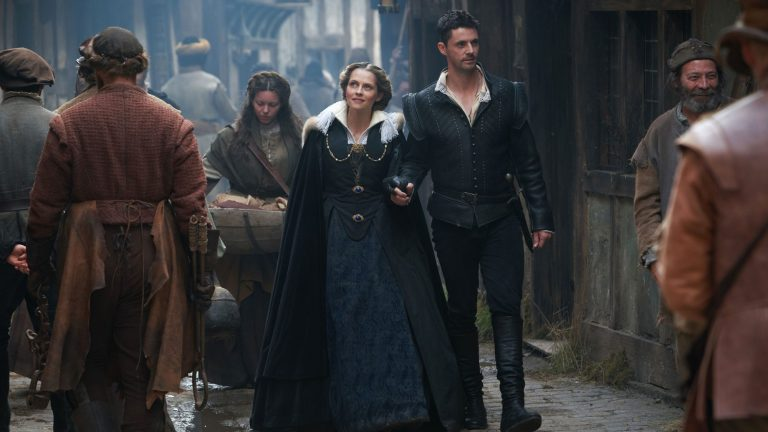 Teresa Palmer and Matthew Goode in A Discovery of Witches Season 2