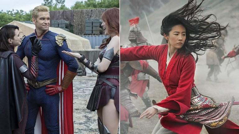 Amazon's The Boys and Disney's Mulan