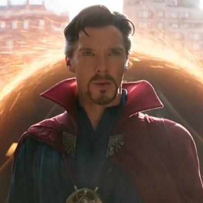 Benedict Cumberbatch as Doctor Strange in Avengers: Infinity War
