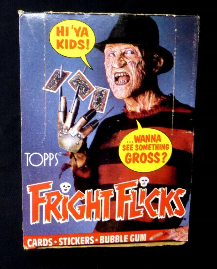 Topps' Fright Flicks Unopened Box
