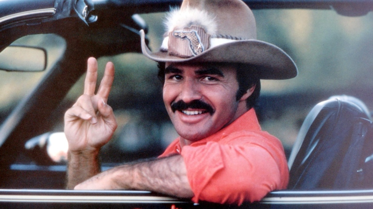 Burt Reynolds in Smokey and the Bandit