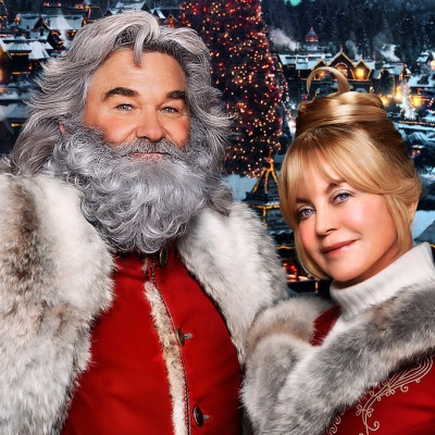 Kurt Russell and Goldie Hawn; The Christmas Chronicles 2 poster