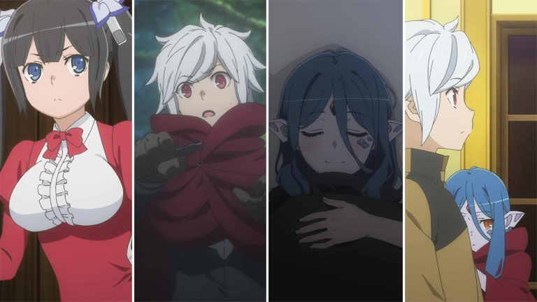 Danmachi: Is it Wrong to Pick up Girls in a Dungeon?