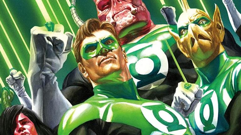 Green Lantern Corps artwork by Alex Ross