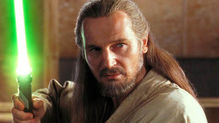 Liam Neeson as Qui-Gon Jinn in Star Wars: The Phantom Menace