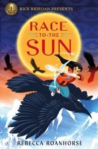 La portada de Race to the Sun de Rebecca Roanhorse.
