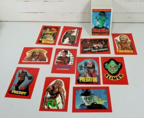 Topps Fright Flicks Complete Card Set