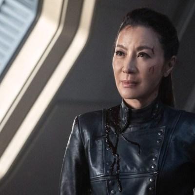 Michelle Yeoh as Emperor Georgiou in Star Trek: Discovery Season 3 Episode 3