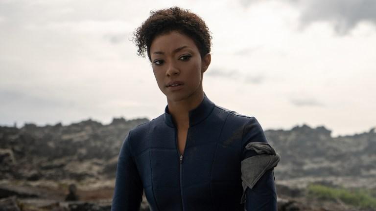 Sonequa Martin-Green as Michael Burnham in Star Trek: Discovery Season 3