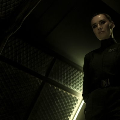Cara Gee as Camina Drummer in The Expanse
