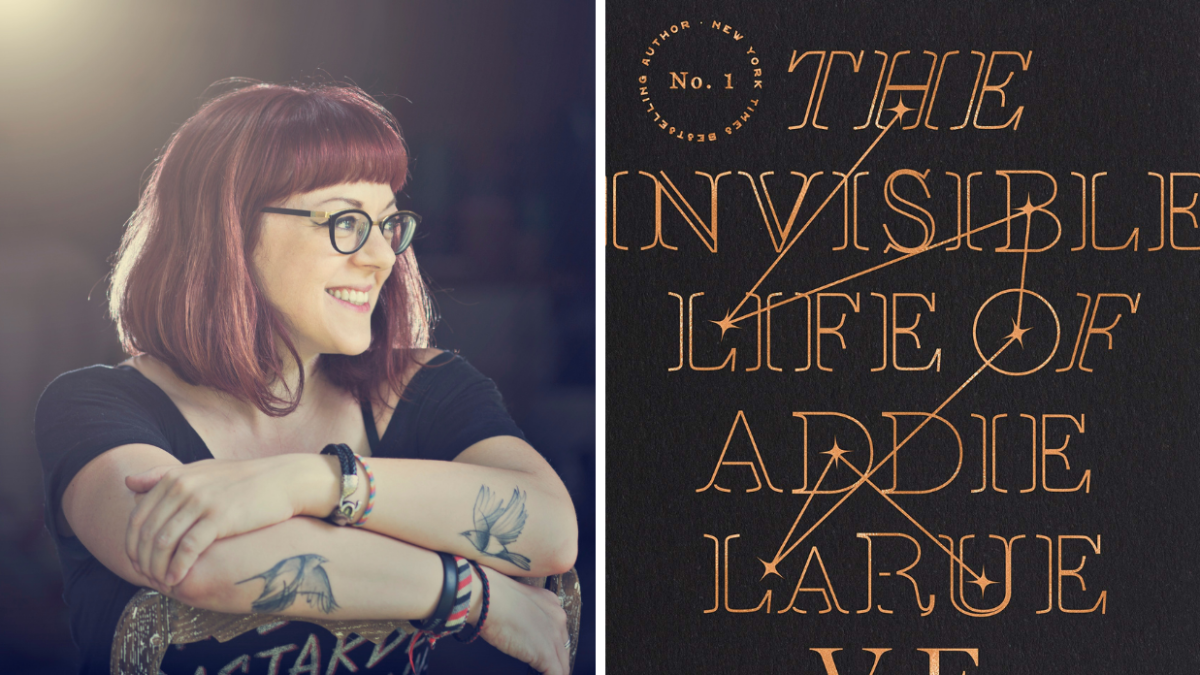 Author V.E. Schwab and The Cover For The Invisible Life of Addie LaRue