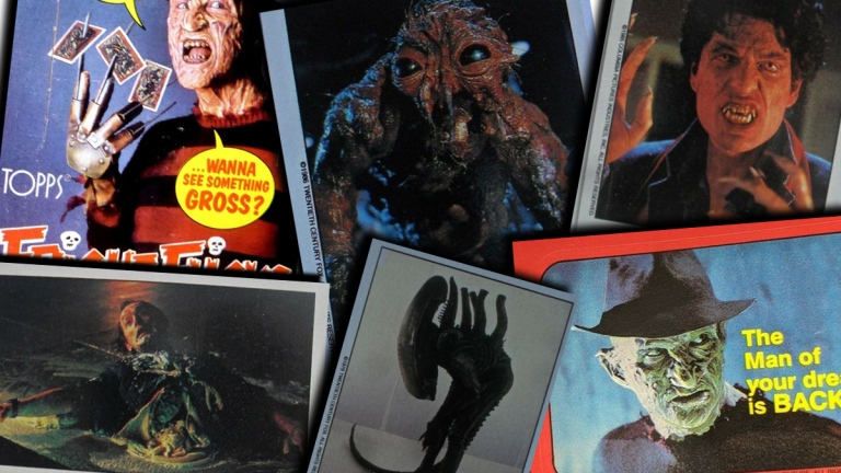 Topps Fright Flicks Horror Cards
