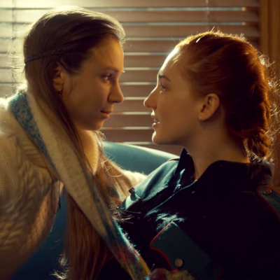 Waverly and Nicole in Wynonna Earp