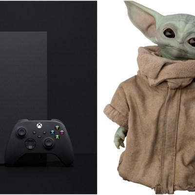 Xbox Series X vs. Baby Yoda