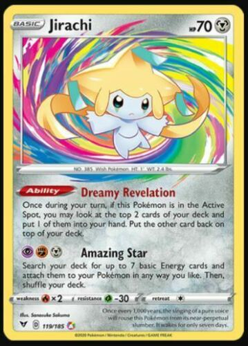 Pokemon Amazing Rares - Jirachi