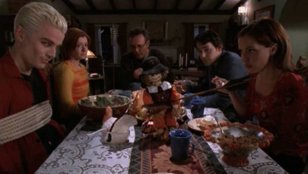 "Best Thanksgiving TV Episodes - Buffy the Vampire Slayer ""Pangs"""