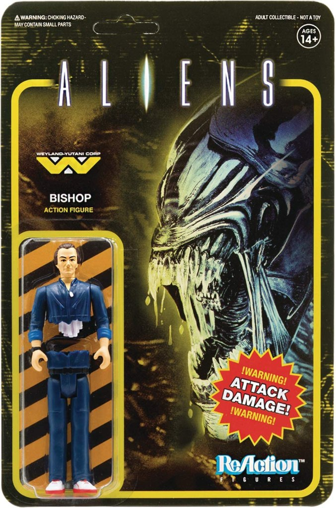 Super 7 Aliens Bishop ReAction Figure