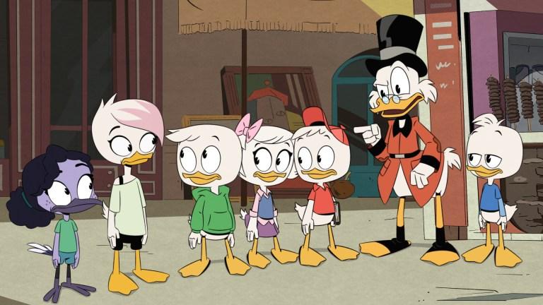 DuckTales Season 3 Episode 14 The Split Sword of Swanstantine