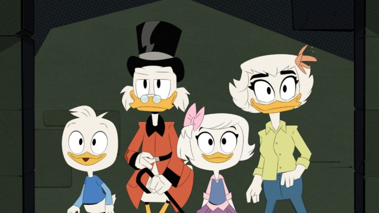 DuckTales Season 3 Episode 17 The Fight for Castle McDuck