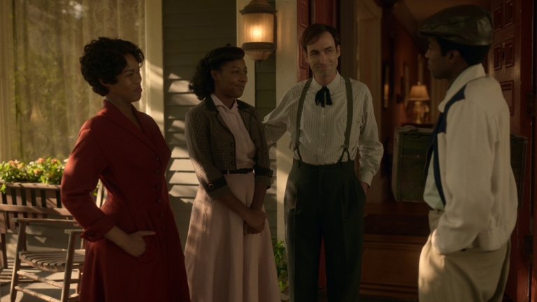 Anji White as as Dibrell Smutny, E'myri Crutchfield as Ethelrida Pearl Smutny, Andrew Bird as Thurman Smutny, Matthew Elam as Lemuel Cannon