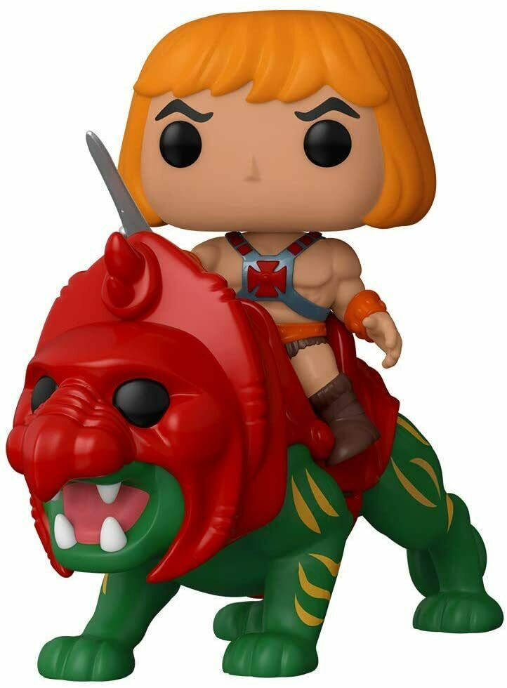 Funko POP! Ride: Masters of the Universe: He-Man on Battlecat Vinyl Figure